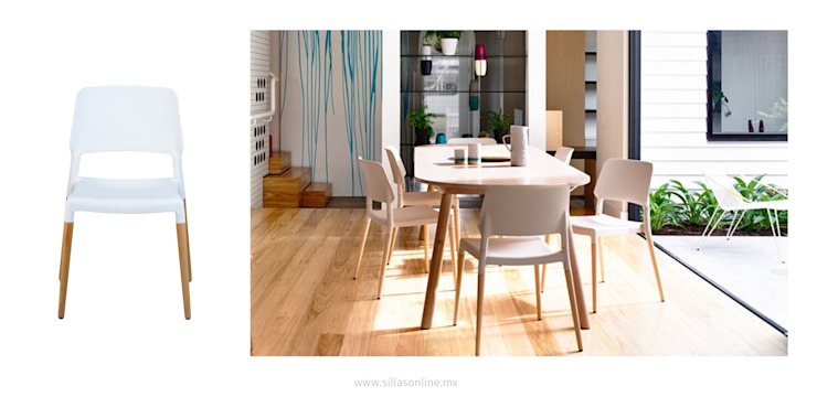 SillasONline HouseholdHomewares White
