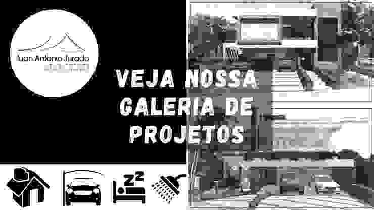 Galeria de Projetos Exclusivos Casas modernas por Juan Jurado Arquitetura & Engenharia Moderno