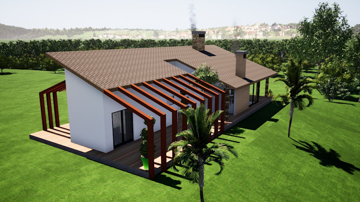 by Danilo Rodrigues Arquitetura Country