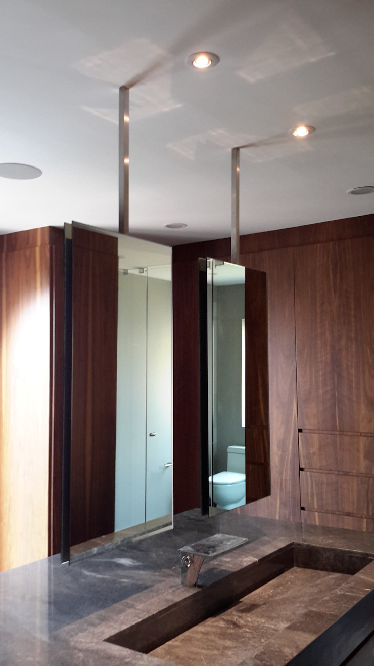 Merkalum BadezimmerSpiegel Glas