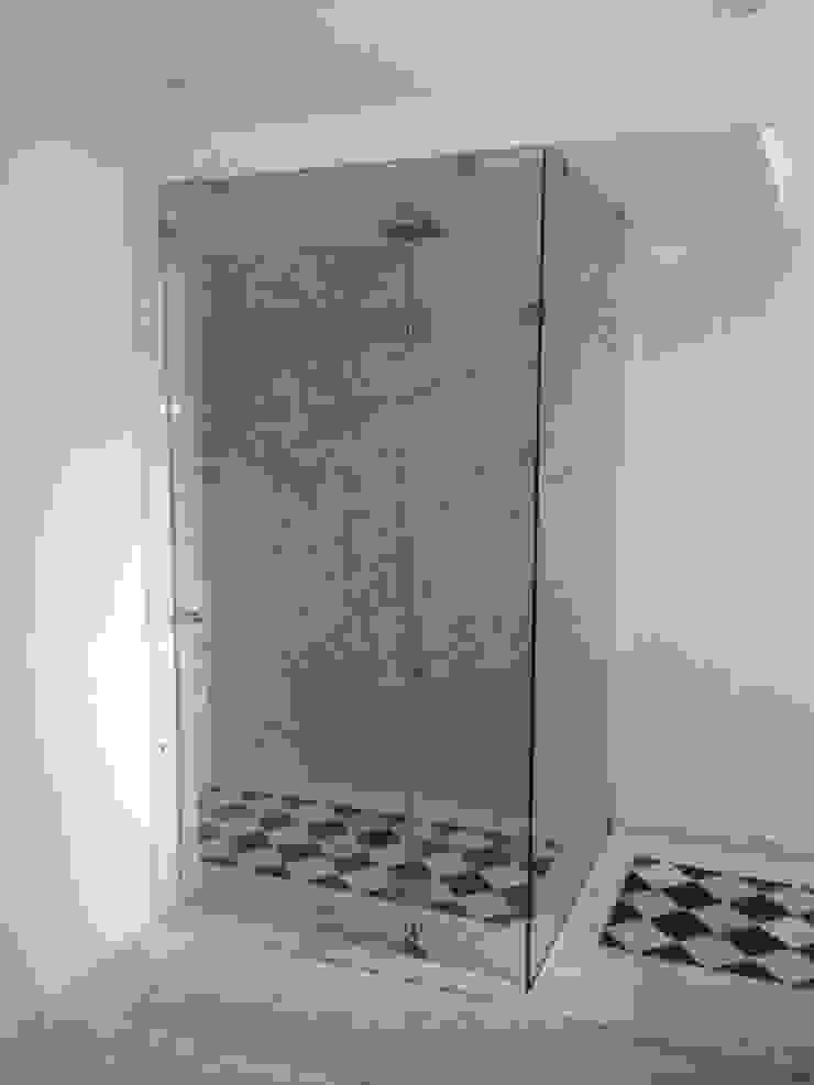 Merkalum Moderne Badezimmer Glas Grün