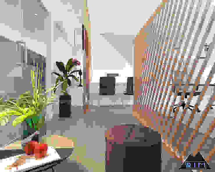 Thiết kế nội thất văn phòng HP EVENTS Công ty trang trí nội thất RIM Decor