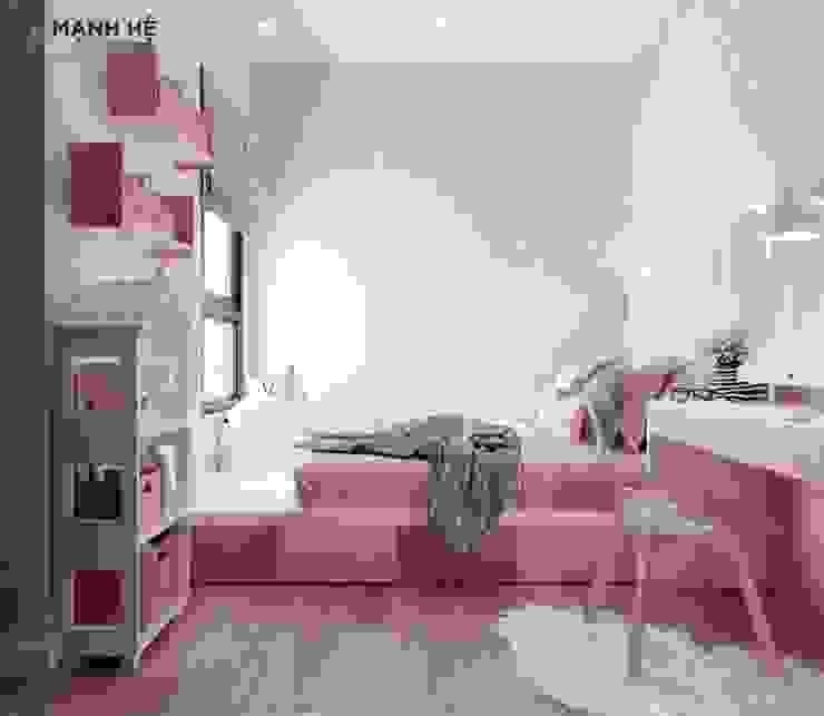 Phòng ngủ tiện nghi và hợp với sở thích của bé Công ty TNHH Nội Thất Mạnh Hệ Phòng ngủ nhỏ