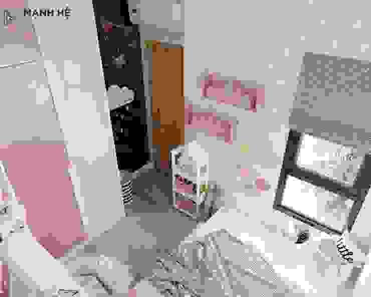 Góc sáng tạo nhỏ trong phòng ngủ Công ty TNHH Nội Thất Mạnh Hệ Phòng ngủ nhỏ