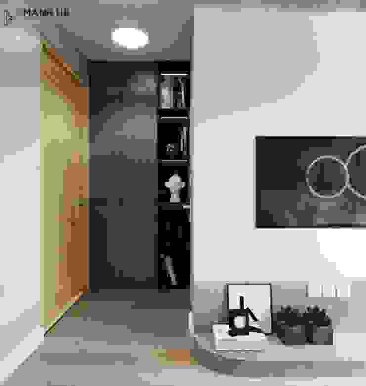 Kệ âm tường tận dụng diện tích Công ty TNHH Nội Thất Mạnh Hệ Phòng ngủ nhỏ