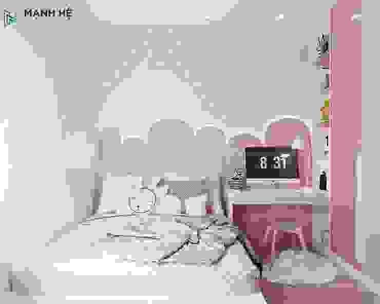 Nội thất phòng ngủ nhỏ đẹp mắt cho bé Công ty TNHH Nội Thất Mạnh Hệ Phòng ngủ nhỏ