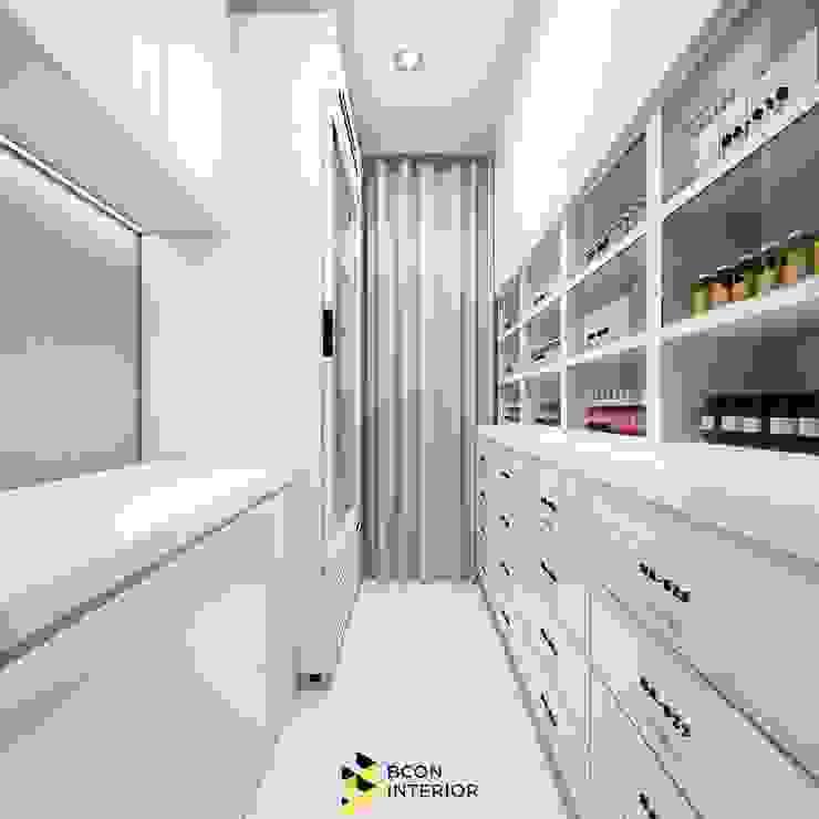 CUTIS Clinic Bcon Interior ห้องโถงทางเดินและบันไดสมัยใหม่