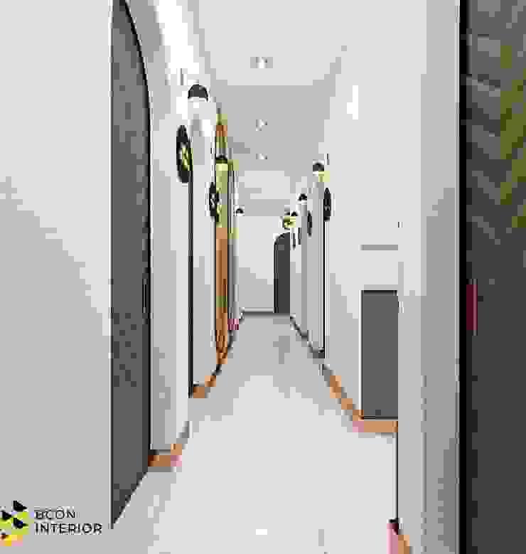 Clinic, ตกแต่งภายในคลินิก, รีโนเวทคลินิก, คลินิก Bcon Interior ห้องโถงทางเดินและบันไดสมัยใหม่