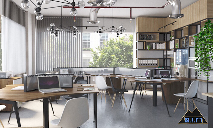 Nguyen Binh Khiem Office Công ty trang trí nội thất RIM Decor