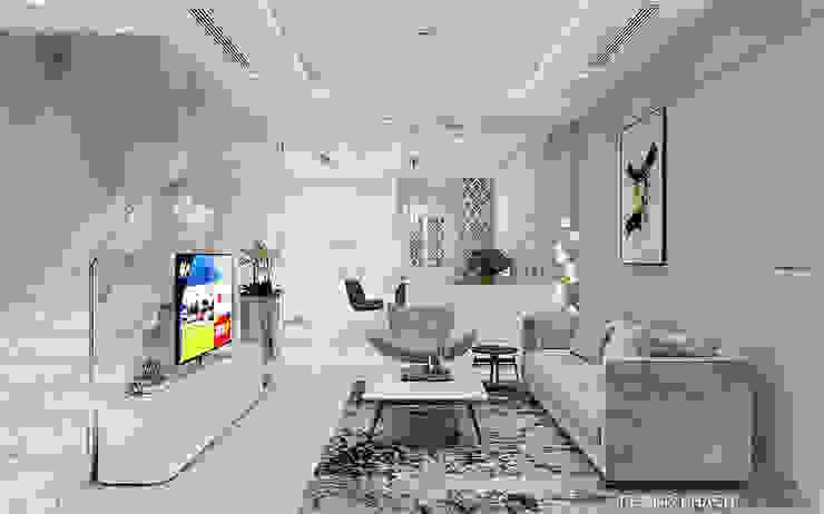 Thiết kế nội thất biệt thự Melosa bởi Công ty trang trí nội thất RIM Decor Hiện đại