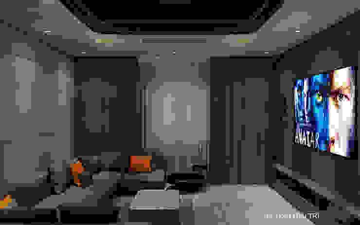 Thiết kế nội thất biệt thự Melosa Phòng giải trí phong cách hiện đại bởi Công ty trang trí nội thất RIM Decor Hiện đại