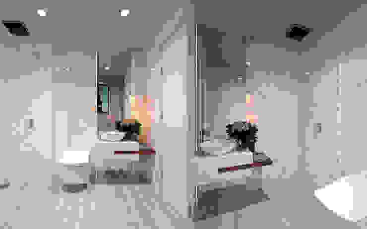 Thiết kế nội thất biệt thự Melosa Phòng tắm phong cách hiện đại bởi Công ty trang trí nội thất RIM Decor Hiện đại