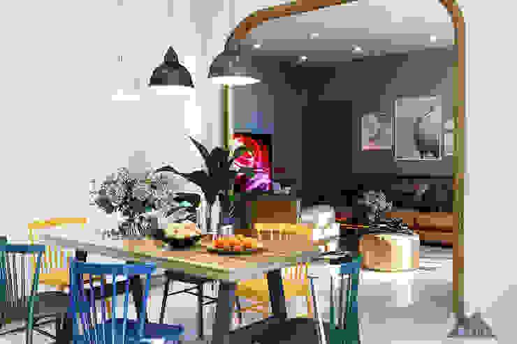 Thiết kế nội thất nhà phố Tây Ninh Phòng ăn phong cách đồng quê bởi Công ty trang trí nội thất RIM Decor Đồng quê