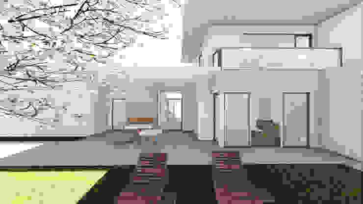 Progettazione case in legno Palestra in stile moderno di Studio Dalla Vecchia Architetti Moderno