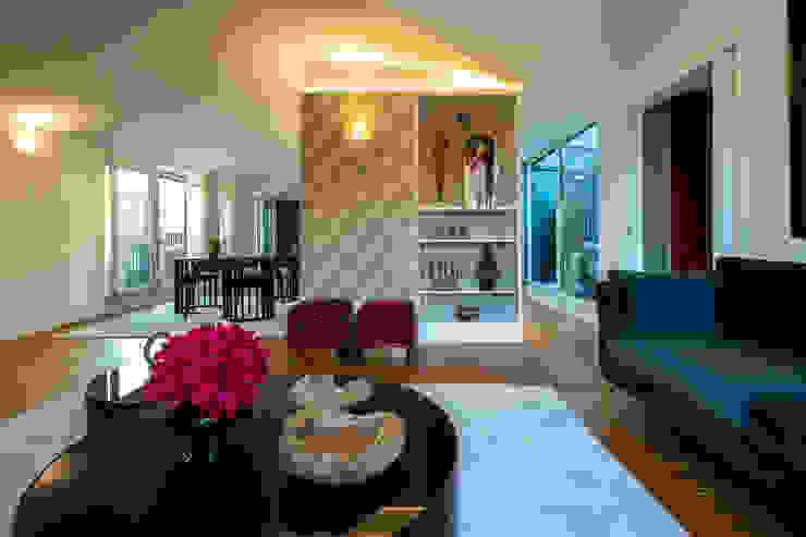 Projecto de Interiores | Tomás Ribeiro | Lisboa Salas de estar ecléticas por Victor Guerra.Design Eclético