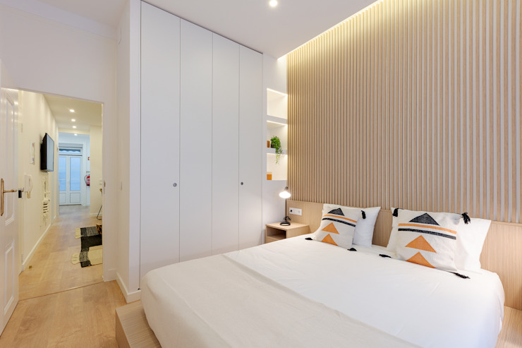 Apartamento Principe Real- Lisboa, Portugal por GGArqui Minimalista