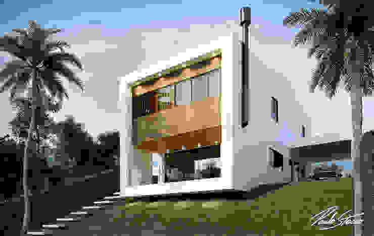 Loft Cubo Paulo Stocco Arquiteto Casas minimalistas