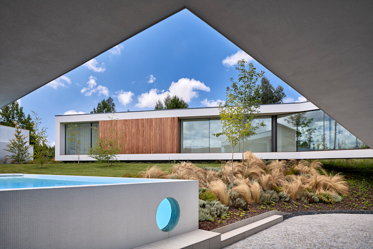 MC House Atelier d'Arquitetura Lopes da Costa Piscinas de jardín