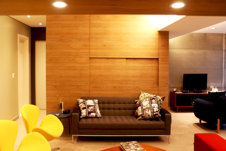 Detalhe da Janela Fechada por Marcos Takiguthi Arquiteto