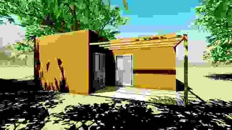 Casa Prefabricada de Pro-Gal Construcción Prefabricada Minimalista Metal