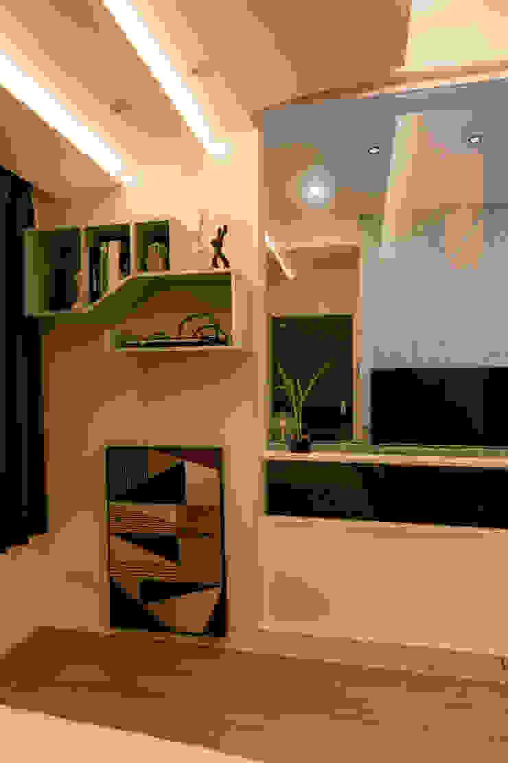 空間穿透 無壓又自在。 根據 法柏室內裝修設計 日式風、東方風