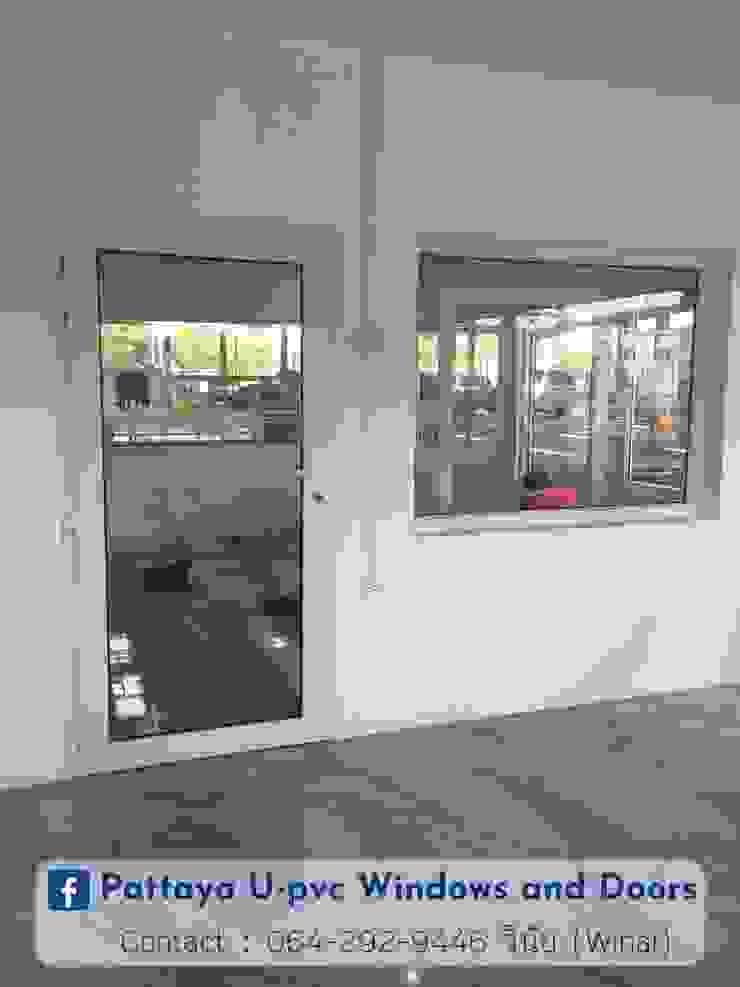 โรงงาน พัทยา กระจก ยูพีวีซี Pattaya UPVC Windows & Doors Glass doors Glass White