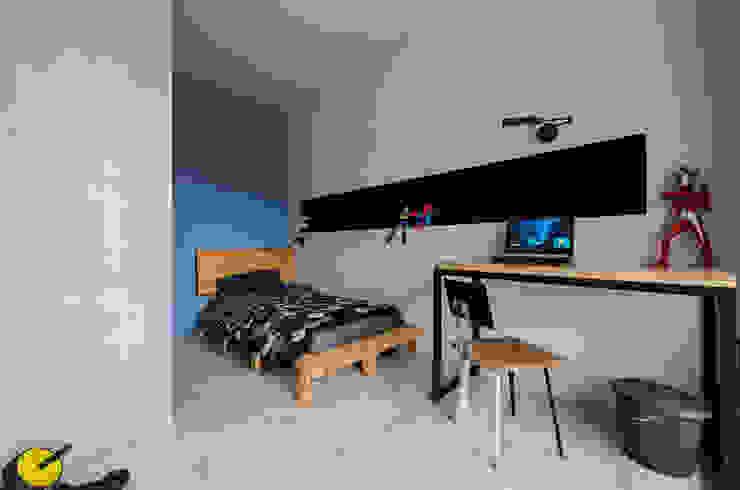 男孩房 根據 黃巢設計工務店/戴小芹建築師事務所 現代風