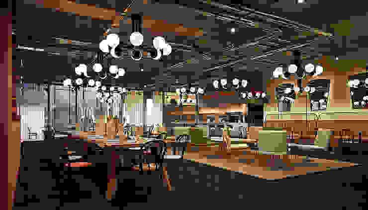 Restaurant - Interiordesign & Hoteldesign - Markus Hilzinger MARKUS HILZINGER Moderne Gastronomie