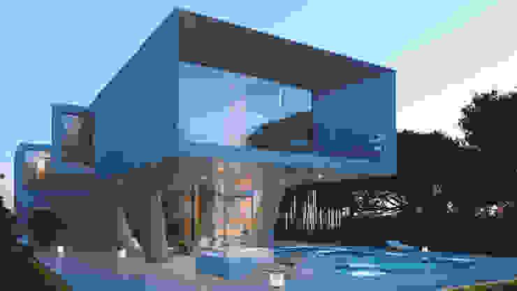 Diseño de una villa en Torrevieja por Pacheco&Asociados de Pacheco & Asociados