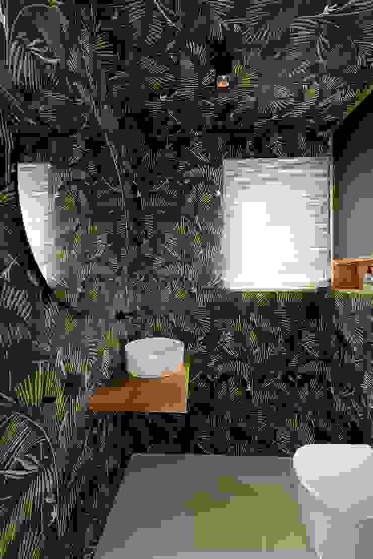 """ausgefallenes """"Jungle"""" Gäste WC Heerwagen Design Consulting Ausgefallene Badezimmer"""