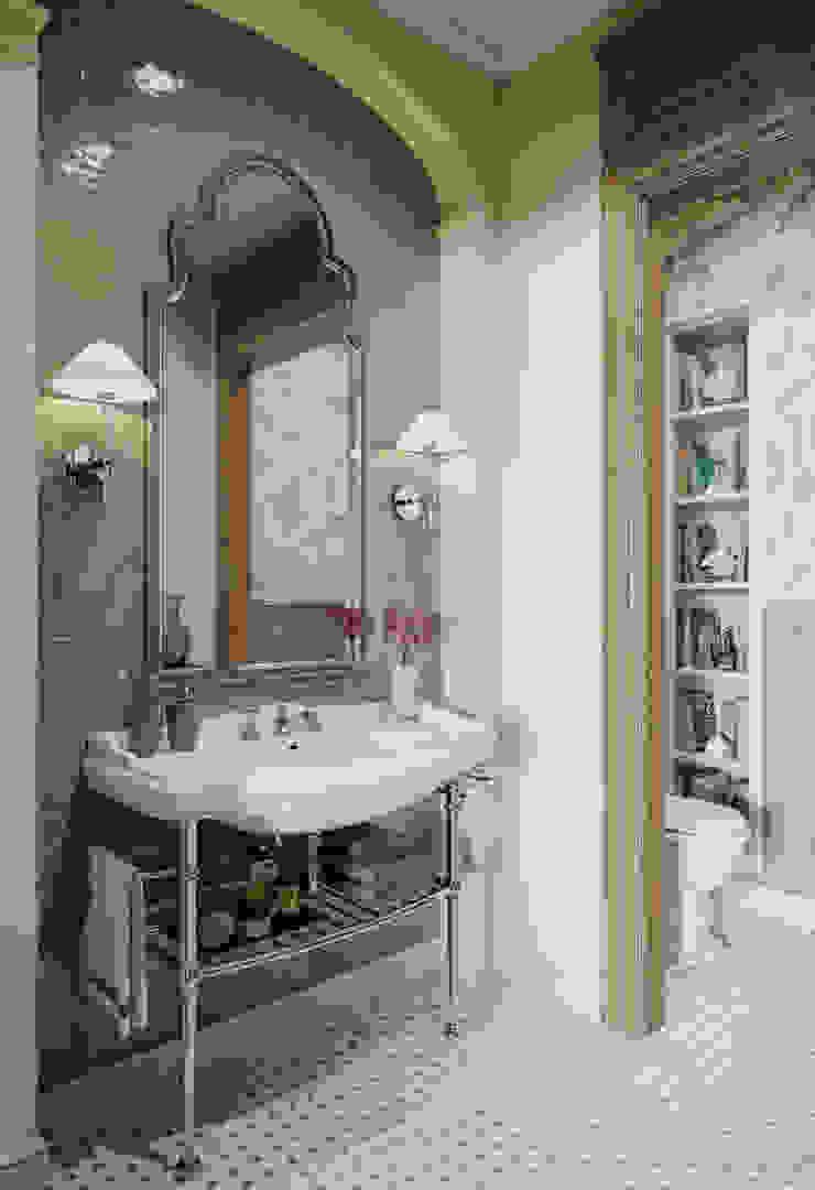 Гостевой санузел в квартире в клубном доме в Depre. Ванная в классическом стиле от MARION STUDIO Классический