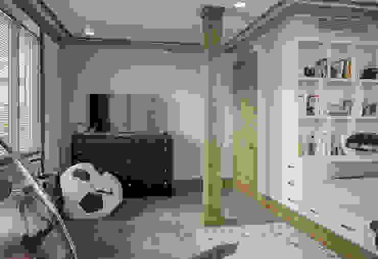 Детская старшего сына в квартире в клубном доме в Depre. от MARION STUDIO Классический
