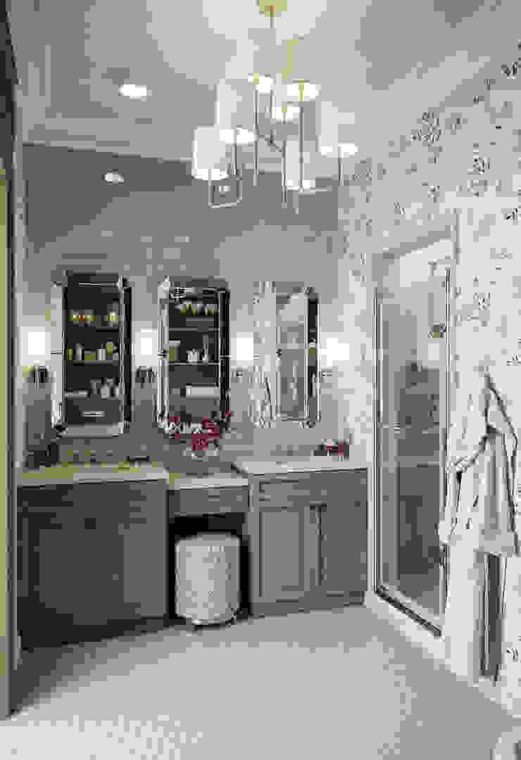 Хозяйский санузел в квартире в клубном доме в Depre. Ванная в классическом стиле от MARION STUDIO Классический