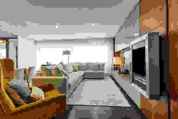 Sala - Casa em Matosinhos - SHI Studio Interior Design por ShiStudio Interior Design Moderno