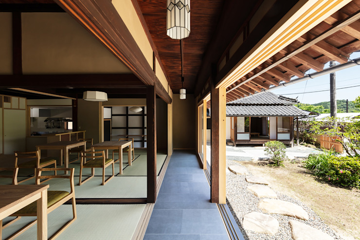de 神家昭雄建築研究室 Asiático Azulejos
