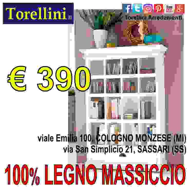 Torellini Arredamenti リビングルームカップボード&サイドボード