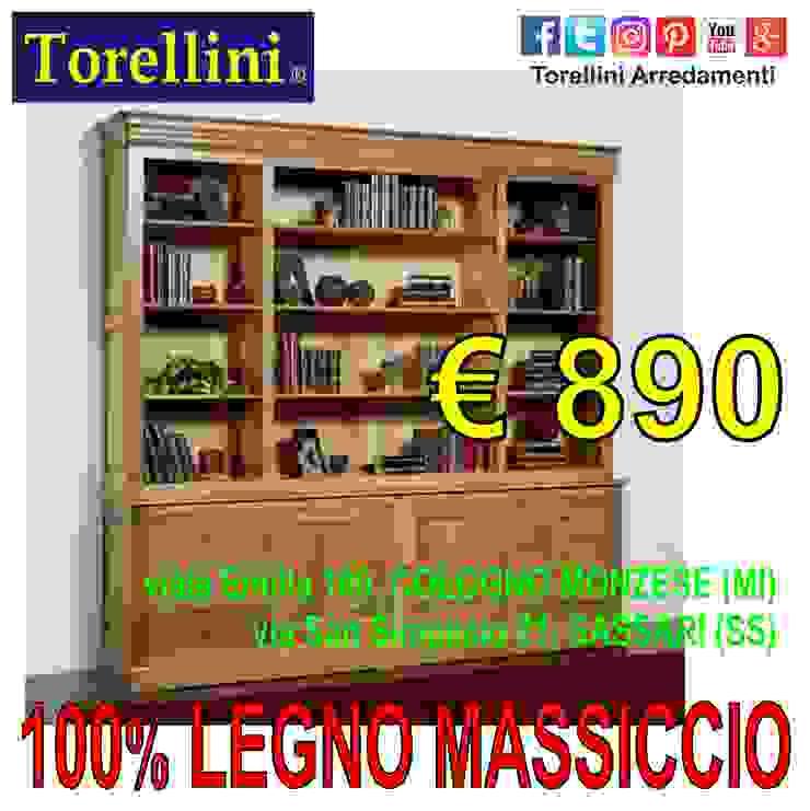 Torellini Arredamenti 勉強部屋/オフィス食器棚&棚