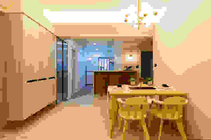 餐區 根據 法柏室內裝修設計 北歐風