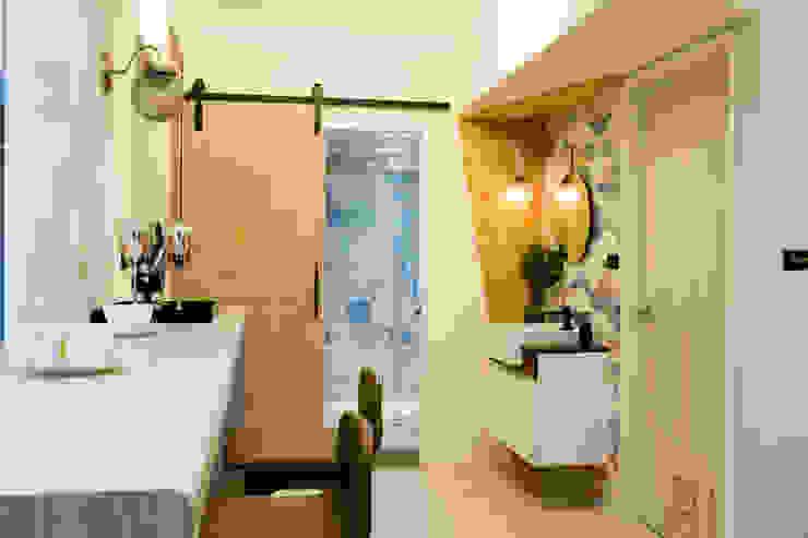 浴室 根據 法柏室內裝修設計 北歐風