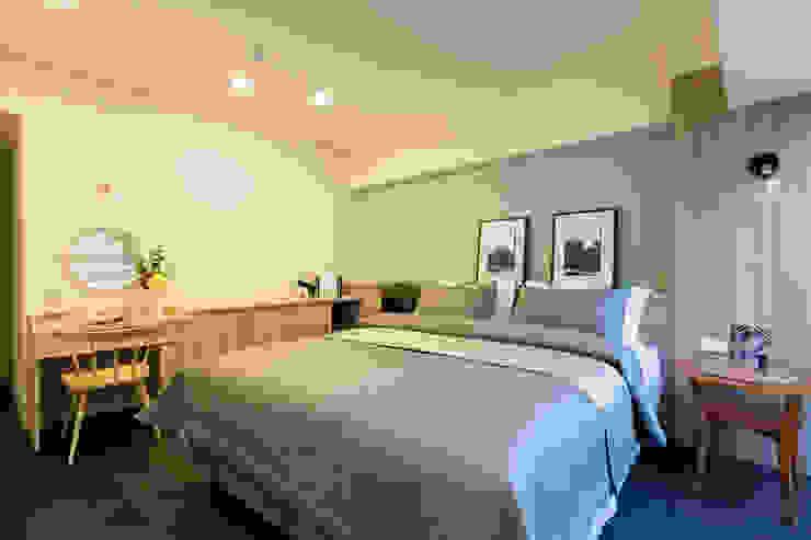 臥室 根據 法柏室內裝修設計 北歐風