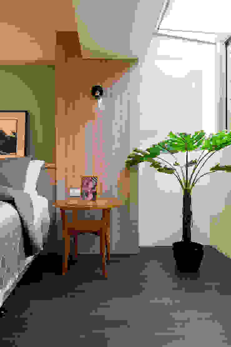 臥房 根據 法柏室內裝修設計 北歐風