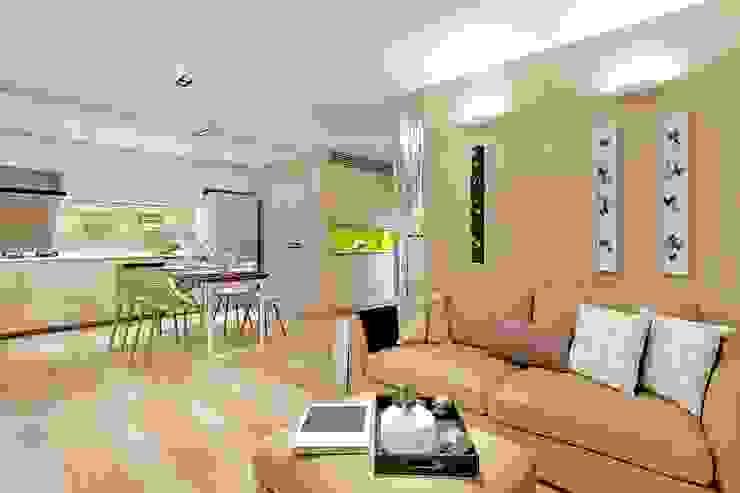 Living Room Modern living room by Darren Design & Associates 戴倫設計 Modern Wood Wood effect