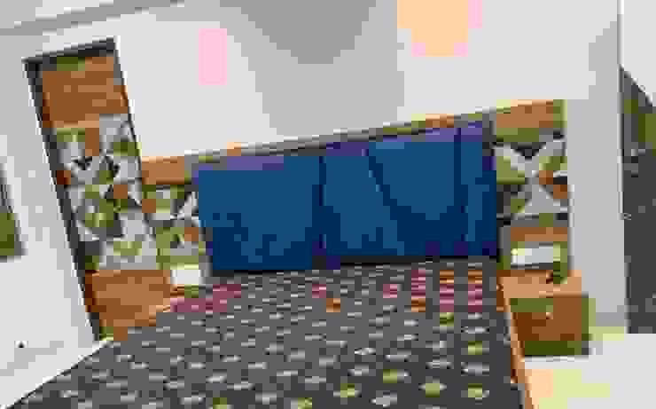Bed : minimalist  by Monoceros Interarch Solutions,Minimalist