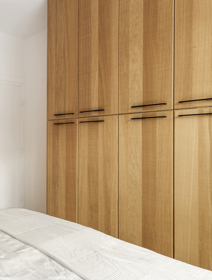 ÈMCÉ interior architecture Modern style bedroom Wood White