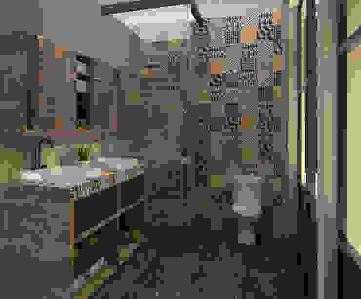 Baño completo de habitación principal de CONCEPTO JORU