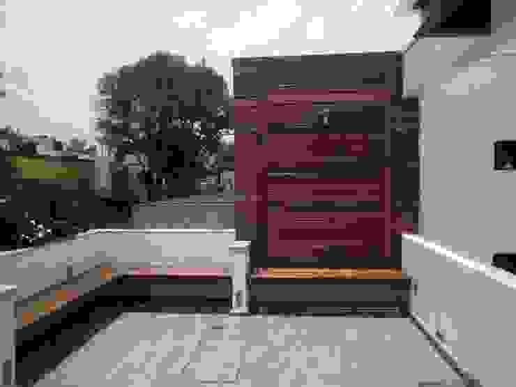 Trabajos recientes (pisos, persianas, etc.) de Decoración Integral Lindavista Moderno Madera maciza Multicolor