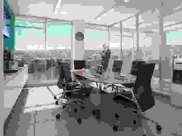 Oficina Comunal de BSArquitectos Moderno