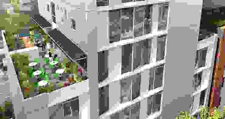 Terraza Piso 8 de BSArquitectos Moderno