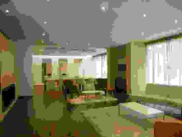 SALA COMUNAL Salas modernas de BSArquitectos Moderno