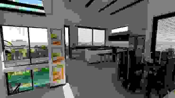 cocina Cocinas de estilo minimalista de TITANIUM ARQUITECTOS S.A.S. Minimalista